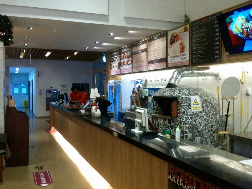 Elysian Gangchon cafeteria