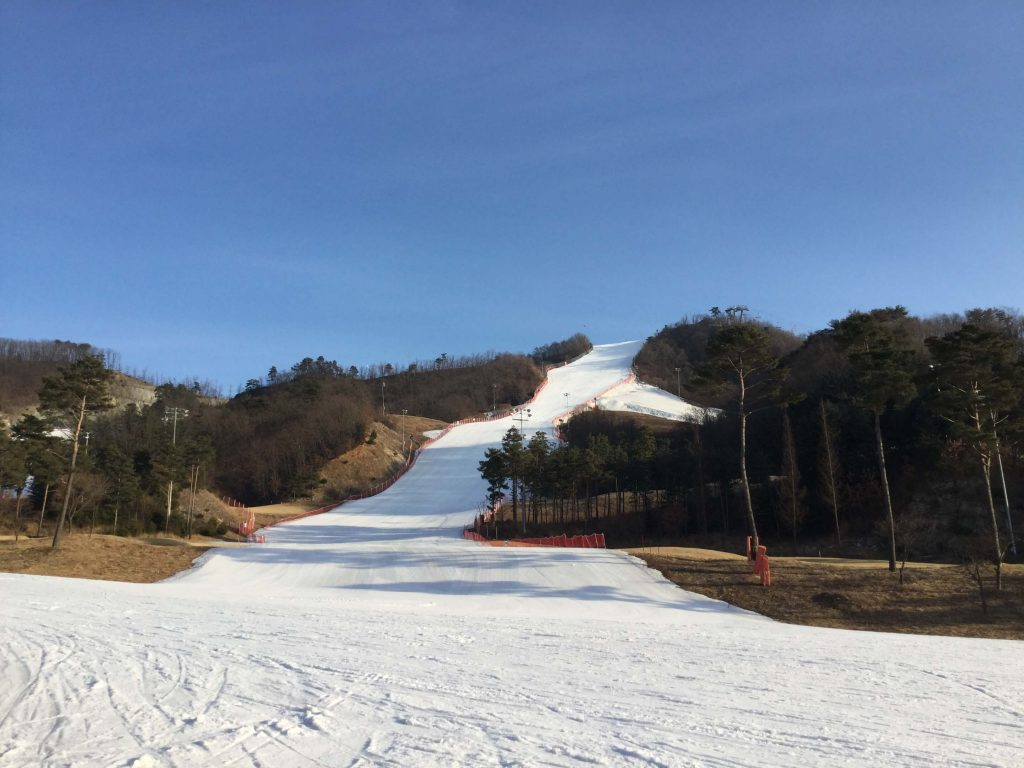 Oak Valley ski slopes