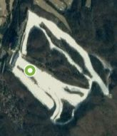 Satellite view of Yangji Pine ski resort, Korea
