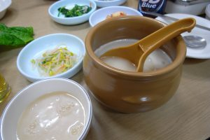 Makgeolli (fermented rice drink)