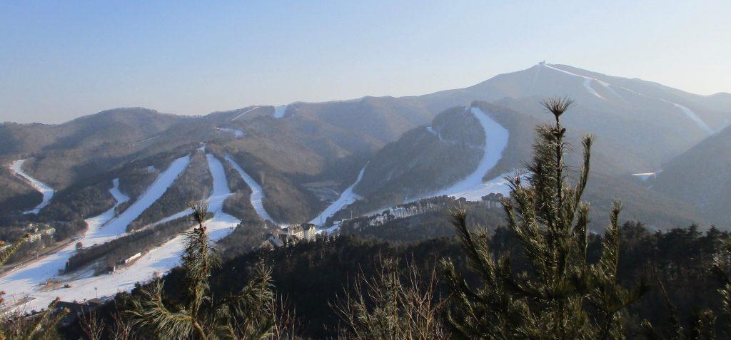 View of Yongpyong from Alpensia